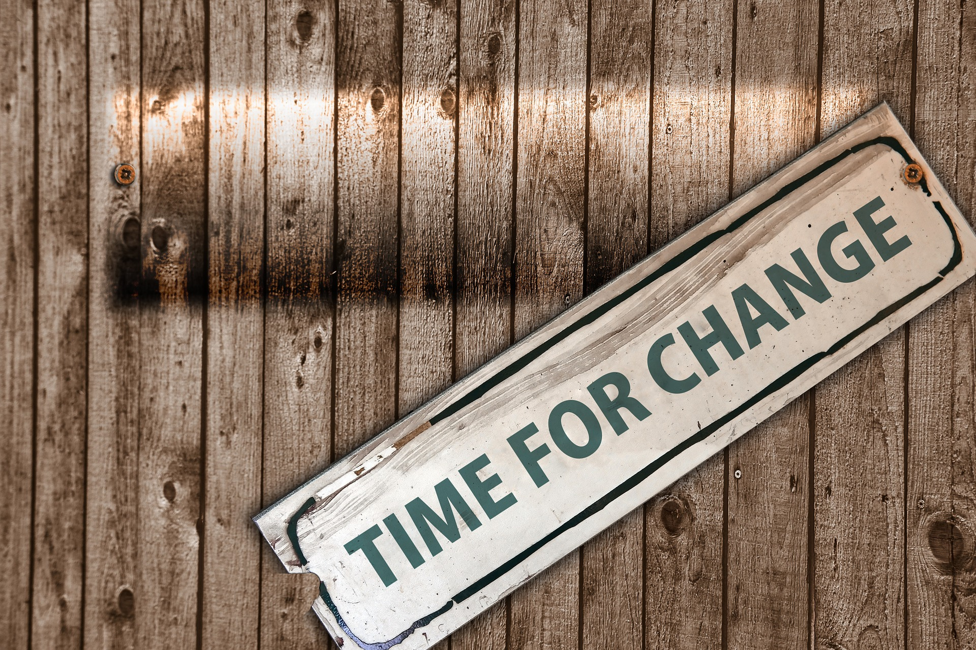 tempo di cambiamenti sul lavoro