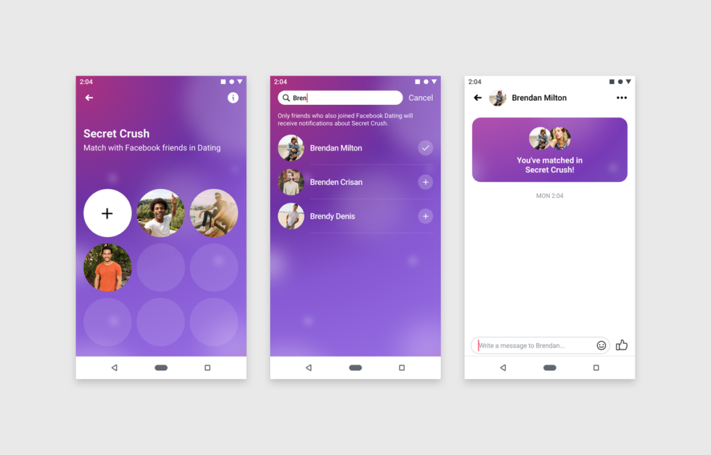 Facebook mobile nuova interfaccia